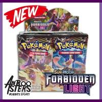 Jual Kartu Pokemon Forbidden Light SM6 Booster Pack Original Bonus 1 kartu Murah