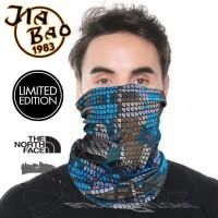 masker bandana spesial edisi TNF Jiabao original - Merah
