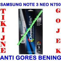 Screen Guard Samsung Galaxy Note 3 Neo N750 Bening Costanza Anti Gores