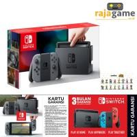 Jual Nintendo Switch Console Gray Free Amiibo Random Bergaransi 3 Bulan Murah
