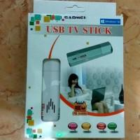 Terlaris USB TV stik FM Radio Analog TV Tuner For laptop