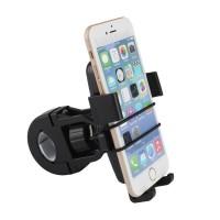 Bracket Holder Stang Motor Bike Sepeda Hp Gps Handphone Tali Pengaman