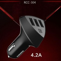 Charger Mobil Remax Alien RCC304 3 USB Output 4.2A Adaptor HP RCC-304