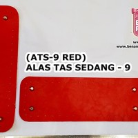 ALAS TAS SEDANG - 09 (RED) - 27.5CM X 9.5CM - AKSESORIS RAJUT