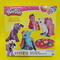 Jual Playdoh Little Pony ORIGINAL cutie mark (9playdoh + 4 cetakan) Murah