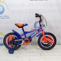 16in Golden Stormy BMX Sepeda Anak 4-7 Tahun Sepeda Anak Laki-Laki