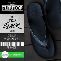 Jual Limited Edition Sandal Jepit Pria Flip Flop CAMOU - WR Jet Black Murah