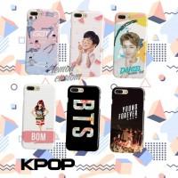 KPOP custom case untuk semua tipe hp xiaomi vivo oppo samsung huawei