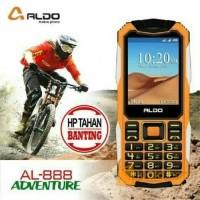 HP ALDO AL888 HP ADVENTURE TAHAN BANTING + BATERAI 2000MAH