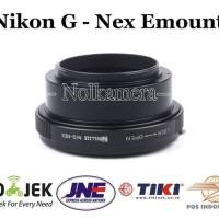 THE GREATEST Adapter Lensa Nikon To Sony NEX E Mount NEX 3C A5000 A7