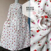 Harga dress baju gamis muslimah motif mini | Pembandingharga.com