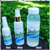 Jual Natural Fresh Deo spray 60ml deodorant Spray tawas Murah