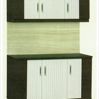 Lemari Dapur / Kitchen Set 3 Pintu Atas Bawah Minimalis