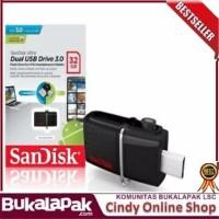 PROMO Sandisk flashdisk 130mbs ultra dual drive usb 30 32gb usb otg L