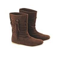 jual Sepatu Boot Wanita Brown Boots Cewek Original Branded Produk Ind