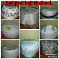 Peci putih / peci haji thailand