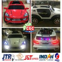 [ EXPEDISI ] Mainan Mobil Aki PMB M8388 Porsche Cayenne ukuran JUMBO