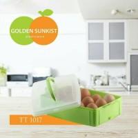 Kotak Tempat Telur Golden Sunkist Isi 12 ( TT-1017)