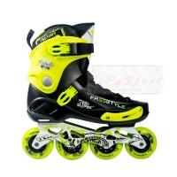 Sepatu Roda FREESTYLE FRSE One Slalom Inline Skate - Black Green