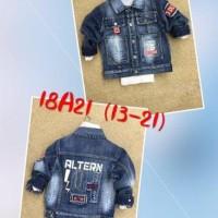 Jaket Jeans Anak Cowo - Jakets Anak Laki Import  - Baju Anak Boys -