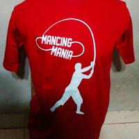 Harga baju kaos distro hobi mancing mania size s m l xl 2xl 3xl | antitipu.com