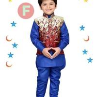 Promo FK 38F Baju Koko Kostum Anak Kecil India Pakistan Lebaran Impor