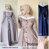 Melinda Store New  farisa dress  GAMIS SYARI/ TANAH ABANG/ GROSIR M
