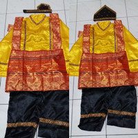 Jual Pakaian baju adat aceh tari saman anak SMA-Dewasa Lk/Pr Murah