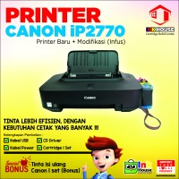 Printer Canon iP2770 + Modifikasi (Infus)