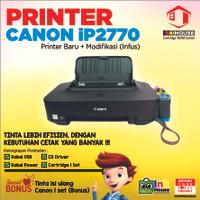 Printer Canon iP2770 + Modifikasi (Infus)