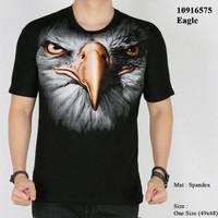 Jual Kaos Elang 3D baju distro motif fauna animal binatang Murah