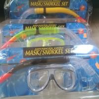 Advanced Swim Mask Snorkel Tempered Glass Set - Seals