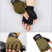 Sarung Tangan Tactical 5.11 Half Gloves Import 511 Model Pendek