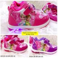 Frozen Fever Sepatu Boots Anak Led Import