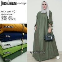 Jawhara maxy baju gamis longdres terusan panjang by farzola