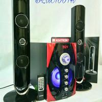 Speaker Aktif Bluetooth Home theater Asatron HT 8876 Ukm + remote