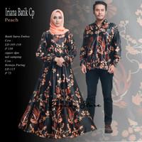 Iriana set couple batik sutera emboss