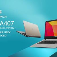 "ASUS A407UA CORE I3-6006U/4GB/1TB/INTEL HD/14""/WIN 10 ORI"