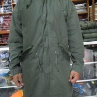 Jacket canvas Fishtail Parka Gap