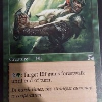 Elvish Pathcutter MTG card