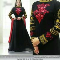 Baju pesta lebaran gaun india maxi dress gamis jodha abaya cantik