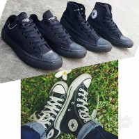 Terlaris sepatu converse all star high full black
