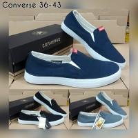 Terlaris Sepatu Slip On Converse Slip On Sepatu Couple Sepatu Kanvas