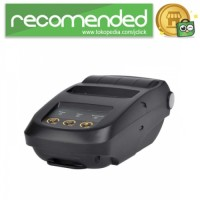Mini Portable Bluetooth Thermal Receipt Printer - RD-1800 - Hitam
