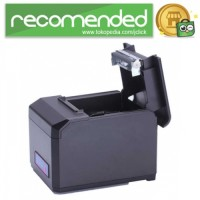 Thermal Receipt Printer with WiFi / LAN / USB Port - HS-E81ULW - Hitam