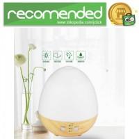 Aromatherapy Air Humidifier Oil Diffuser Egg Shape 235ml - Putih