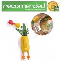 Saringan Infuser Container Ramuan Herbal Model Ayam - Kuning