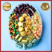 Coklat Delfi Toples Oval A Original