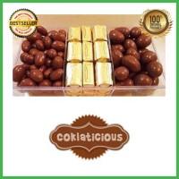 Coklat Delfi Toples Sekat 3 B Original