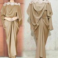 Baju Busana Muslim / Gamis Syari / Gaun Pesta / Dress prinsa coksu